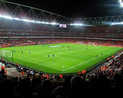 Atmosféra zápasu FC Arsenal živě