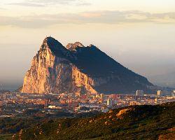 Gibraltar a jeho monumentální skála