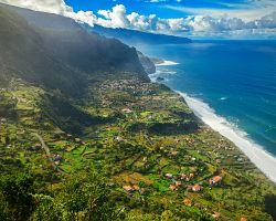 Pobřežní oblast Sao Jorge na severu