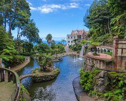 Úchvatná zahrada Monte Palace Tropical Garden