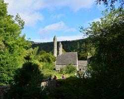 Klášter v Glendalough