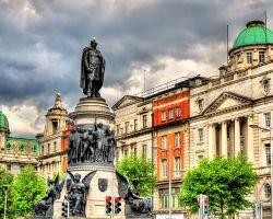 Socha Daniela O'Connella v Dublinu