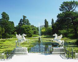 Nádherné zahrady hrabství Powerscourt