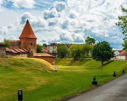 Gotický hrad v Kaunasu