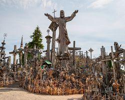 Křížový vrch v Lotyšsku