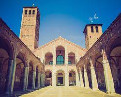Basilica di Saint Ambrogio v Miláně