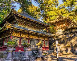 Nikkó chrámový komplex v horách