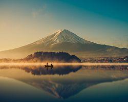 Posvátná hořa Fudži