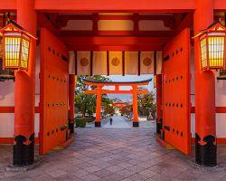 Vstupní brána do Fušimi Inari