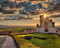 Mystická bazilika sv. Františka z Assisi