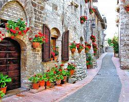 Kouzelné uličky Assisi
