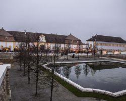 Vánoční výzdoba areálu zámku má svoji jedinečnou atmosféru.