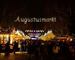 Trhy na Augustusmarkt jsou druhými největšími v Drážďanech