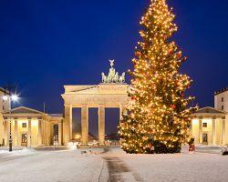 Vánoce u Braniborské brány.
