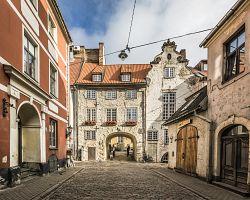 Švédská brána do starého města