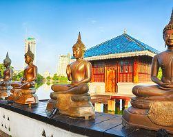 Chrám Seema Malaka v Kolombu