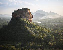 Lví skála Sigiriya a její panorama
