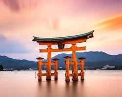 Plovoucí brána svatyně Icukušima-džindža