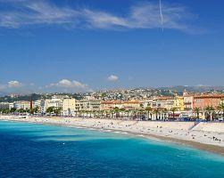 Jedna z neoblíbenějších pláží v centru Nice
