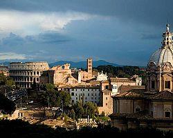 výhled na Koloseum