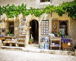 Kouzelné uličky v Les Baux-de-Provence