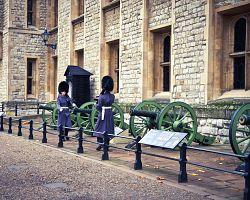 Hradní stráž u Tower of London