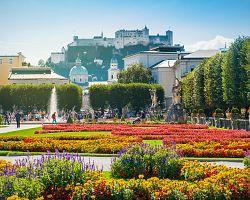 Skvostné Mirabell Garden v Salzburgu