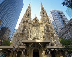 Impozantní katedrála sv. Patrika v New Yorku