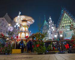 Vánoční trhy ve Wroclawi
