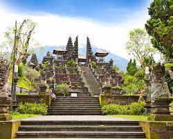Největší hinduistický chrámový komplex na Bali