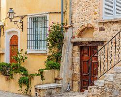Uličky Starého města Antibes