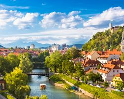 Panorama Lublaně