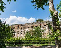 Pozůstatky antických Pompejí