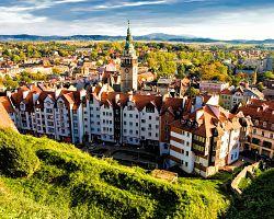 Polské město Kladsko