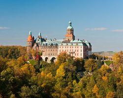 Majestátní zámek Ksiaź