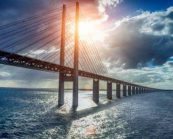 Oresundský most mezi Dánskem a Švédskem