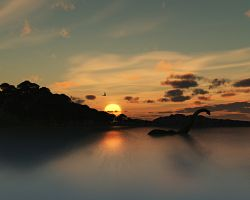 Jezero Loch Ness proslulé příšerou Nessie