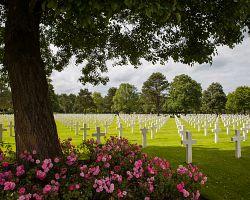 Americký vojenský hřbitov Colleville-sur-mer