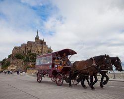Zážitková jízda ke klášteru Mont Saint Michel