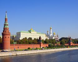 Kreml - mocenské centrum Moskvy