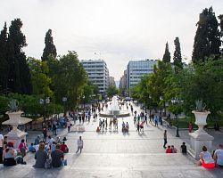 Hlavní náměstí Syntagma