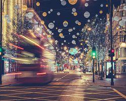Vánoční Oxford street