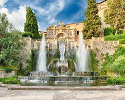 Neptunova fontána ve Villa d´Este