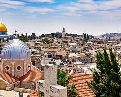 Působivý výhled na Jeruzalém