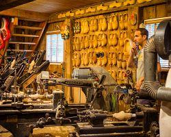 Muzeum dřeváků v Zaanse Schans