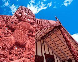 Tradiční maorský dům