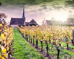 Malebná krajina Alsaska