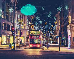 Kouzelný Londýn s vánoční atmosférou