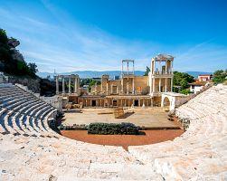 Římský amfiteatr Plovdiv