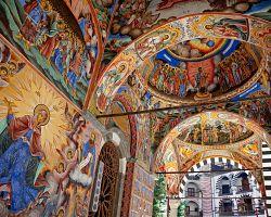 Fresky v Rilském klášteře